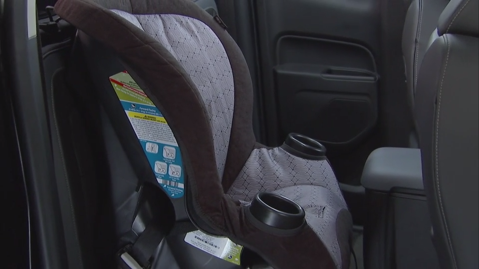 Rear Seat Configuration For Child Safety Seats